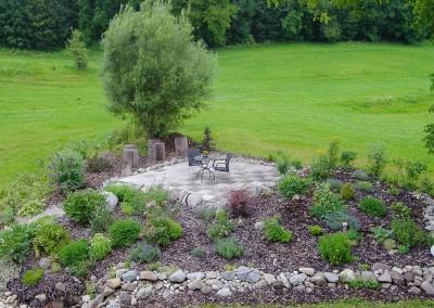 Blick auf unseren Natur- Garten